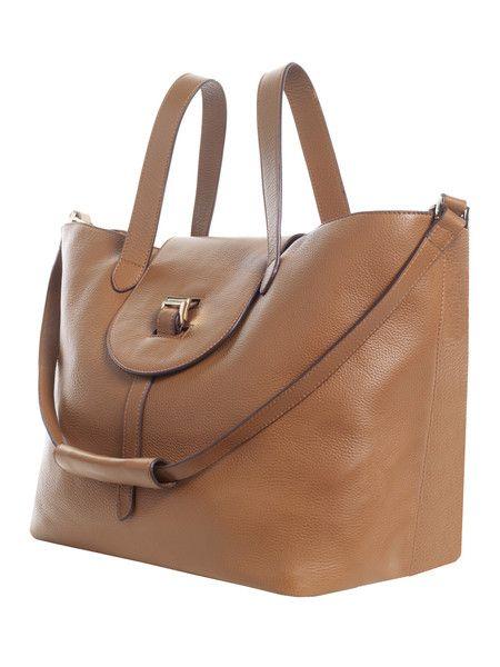 40d229473be4 Thela halo tan cervo luxury handbag Meli melo bespoke bags