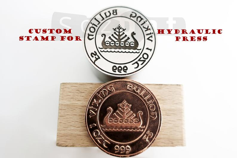 Custom Logo Stamp for Hydraulic Press Custom Die Custom
