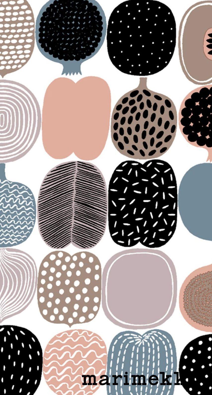 Marimekko Iphone Wallpaper Marimekko Pattern Marimekko Wallpaper Marimekko