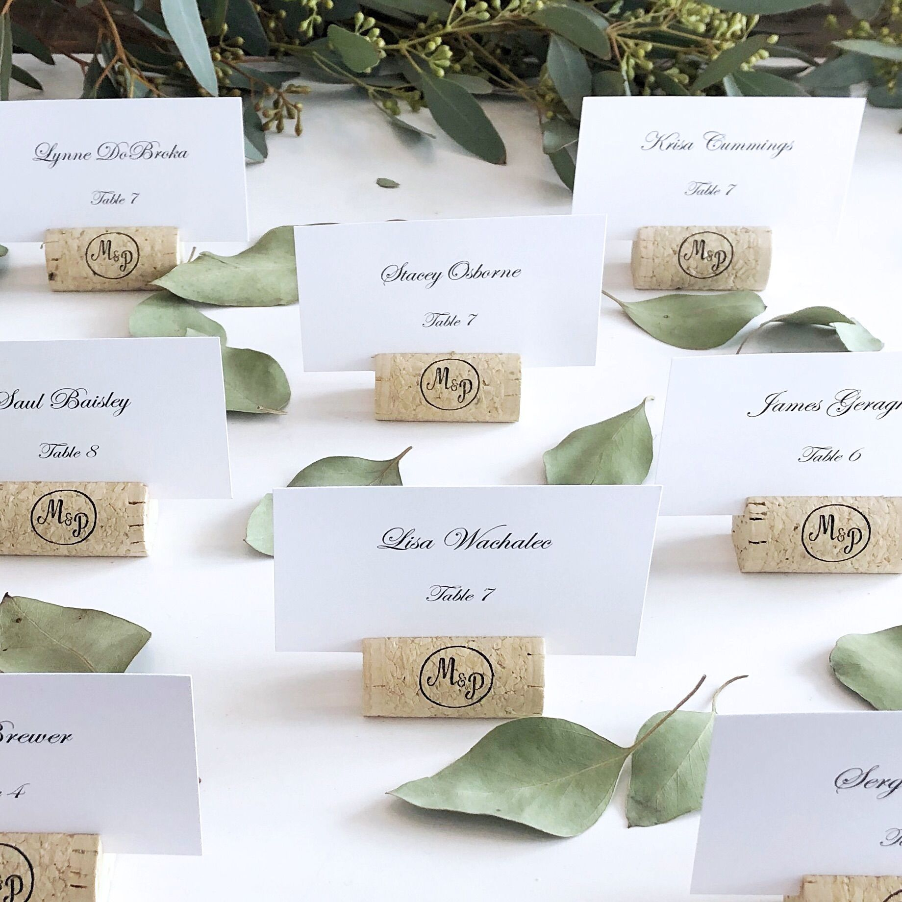- Personalized /& Custom Placecard Perfect for Weddings or Special Occasions Escort Tags  Place Cards 100