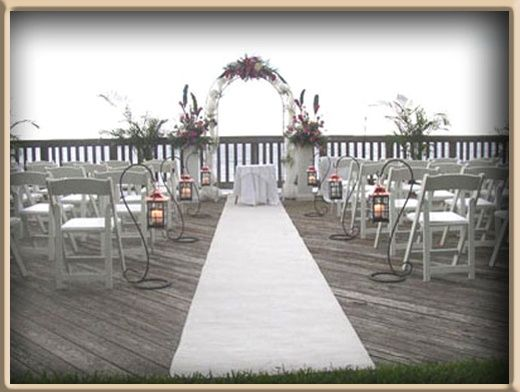 Here Is A White Aisle Carpet Runner For Rent Or Purchase