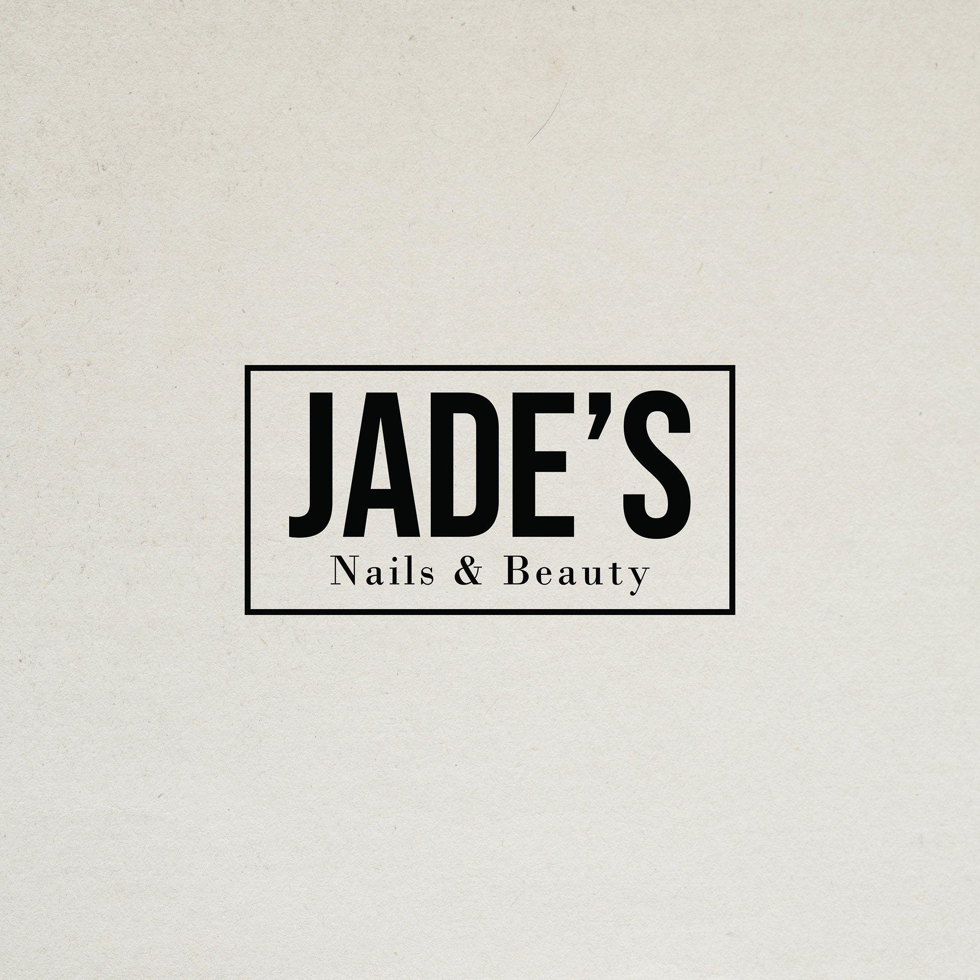 Beauty Salon Logo Beautician Logo 'Jade' Nail