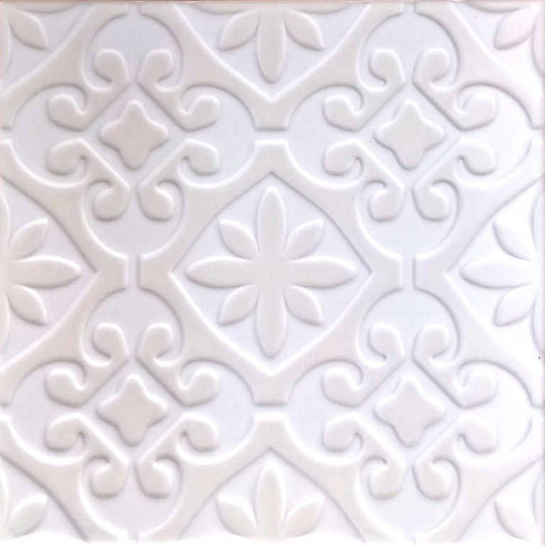TRIPLEX VALVERDE WHITE 20X20 - SQM - Wall Tiles - Tiles - Our ...