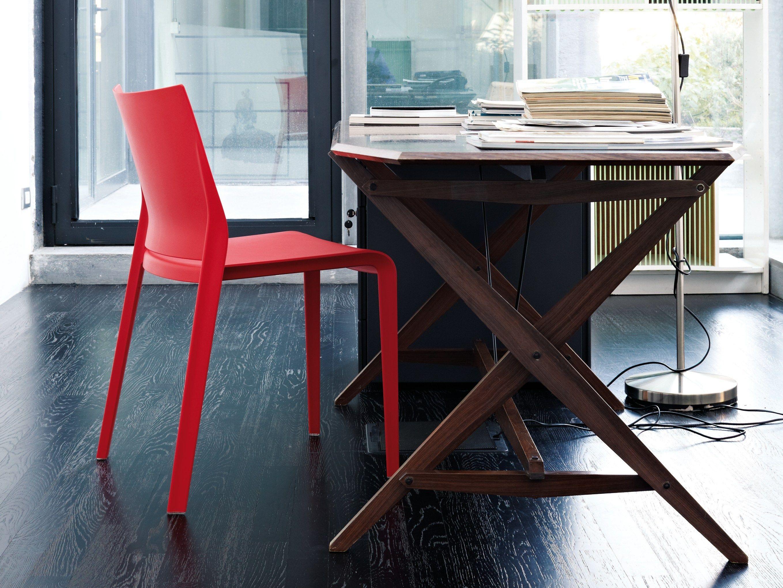 Desalto sedie ~ Sedia impilabile in polietilene riga by desalto design claudio