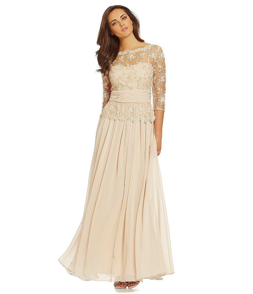 Champagneemma Street Beaded Lace Gown Dresses Pinterest