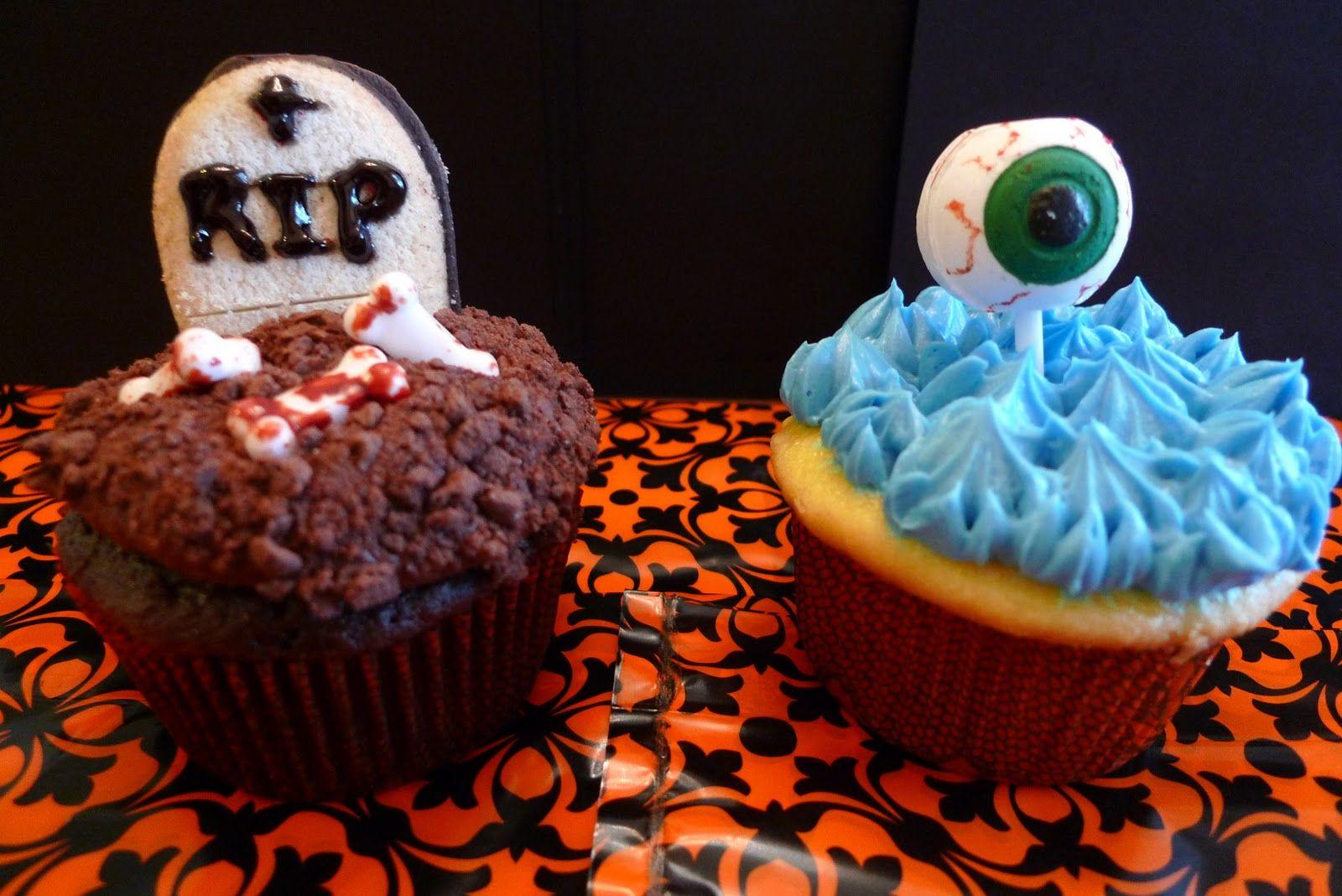 Künstlerisch Halloween Cupcakes Rezepte Sammlung Von My Spooky Now Up At Www.ungerhungerreview!