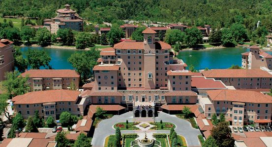 The Broadmoor Colorado Springs Co This Hotel Has It All Fitness Center