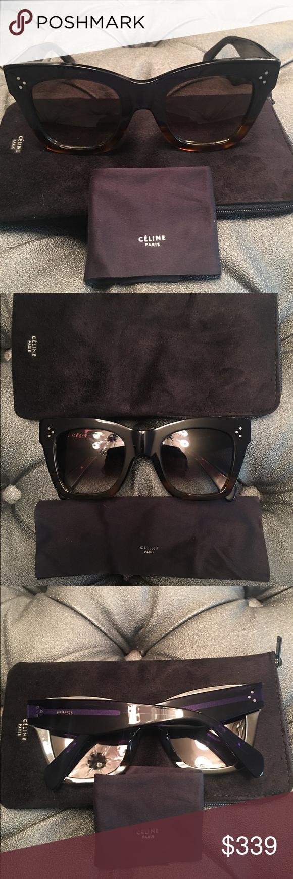 bdd287cb889c Celine Catherine sunglasses Brand new Celine CL 41098 S Catherine Sunglasses.  Oversized cat eye