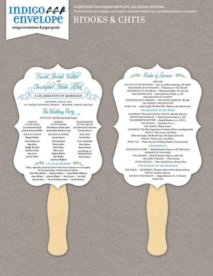 Pin On Ceremony Programs