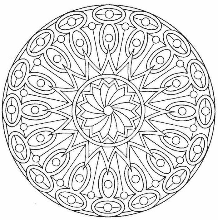 29 free printable mandala colouring pages canada arts connect - Free Mandala Coloring Pages