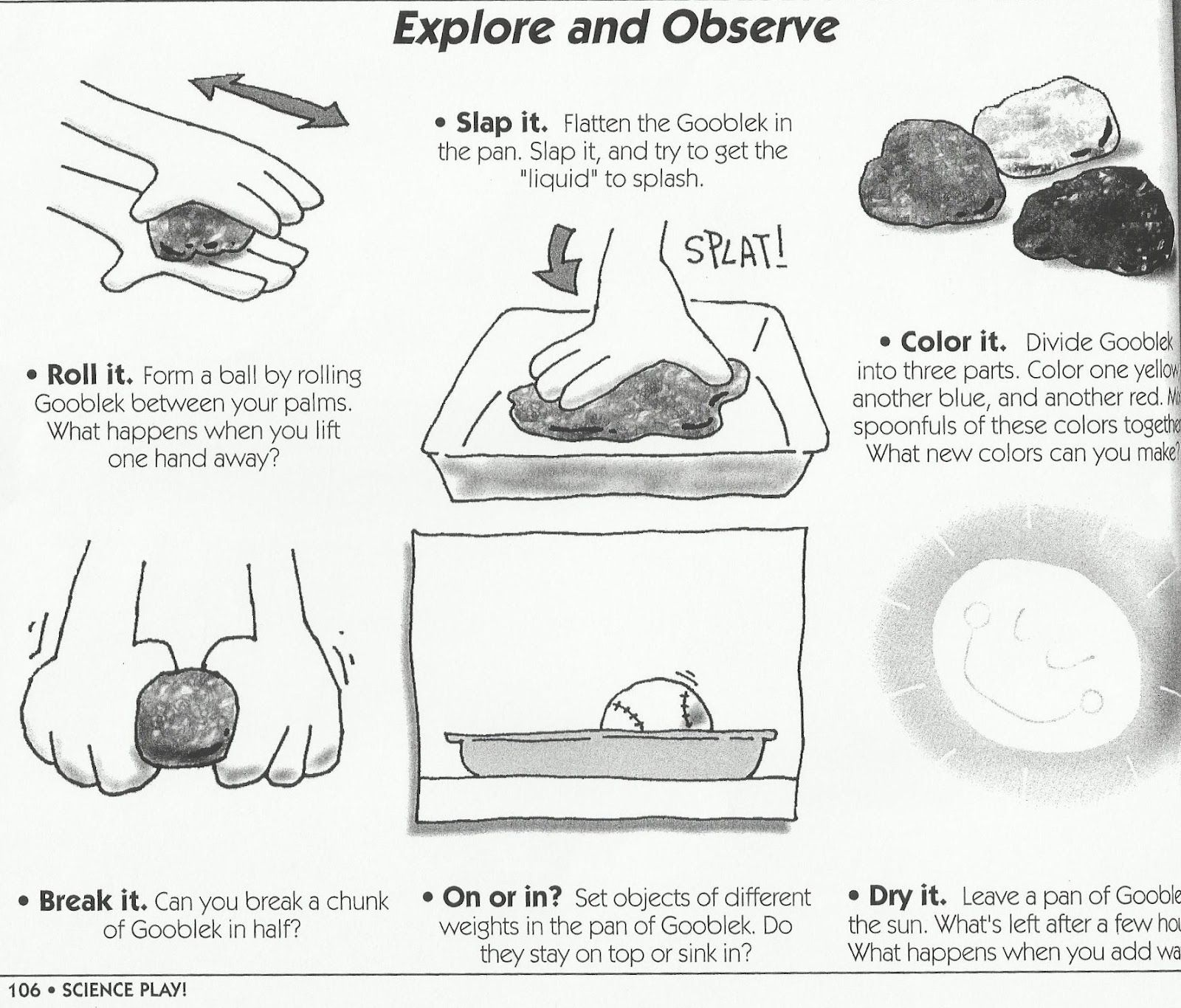 Science Printable Experiments Worksheets Submited Images