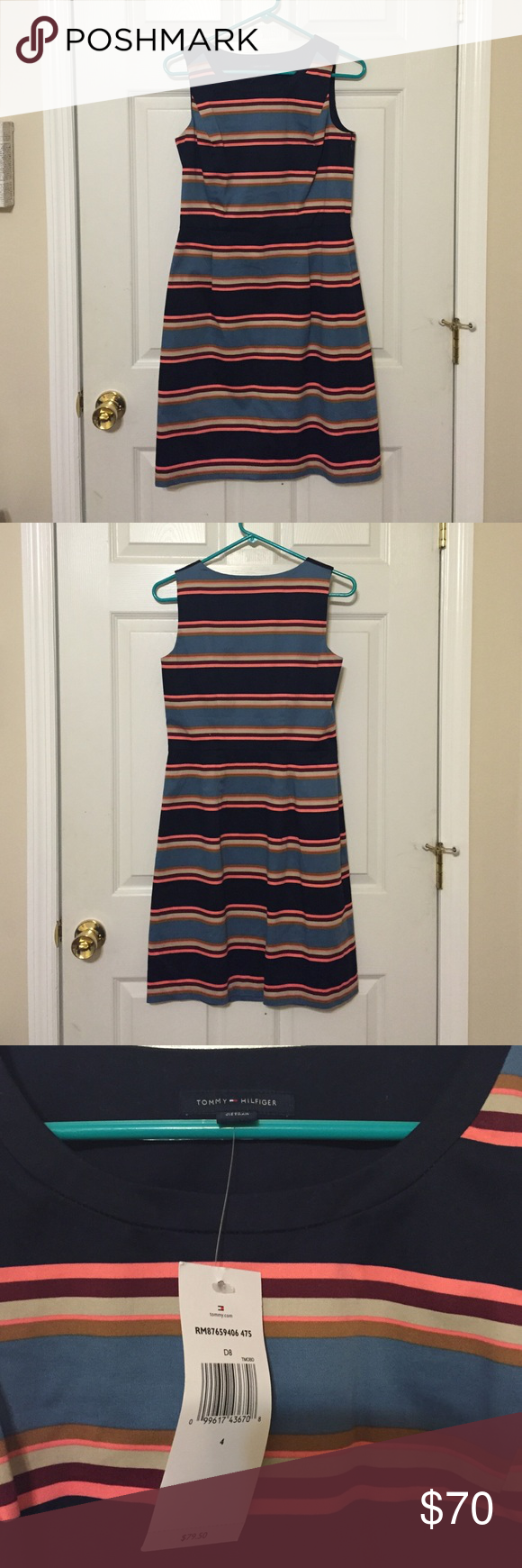 NWT Tommy Hilfiger Dress NWT! In perfect condition! Great for work, or brunch! On Ⓜ️ for less! (Same username) Tommy Hilfiger Dresses Midi