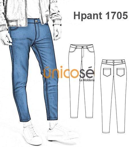 Moldes Unicose Pantalones De Hombre Moldes De Pantalones Ropa