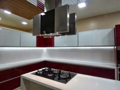 Learn About Different Styles, Shapes And Layouts Of Modular Kitchen Design,  Kitchen Arrangement.