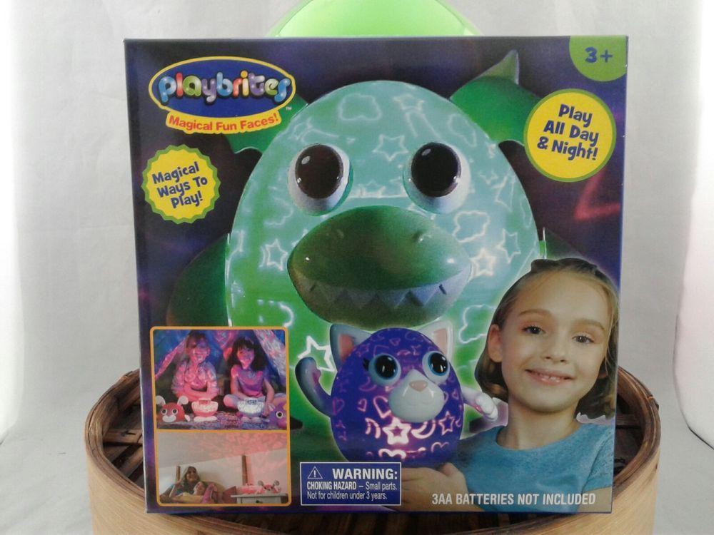 Playbrites Dragon Light Show Night Light Toy 9 Playbright Play Faces Playbrites Ebay Dragon Light Night Light Ebay