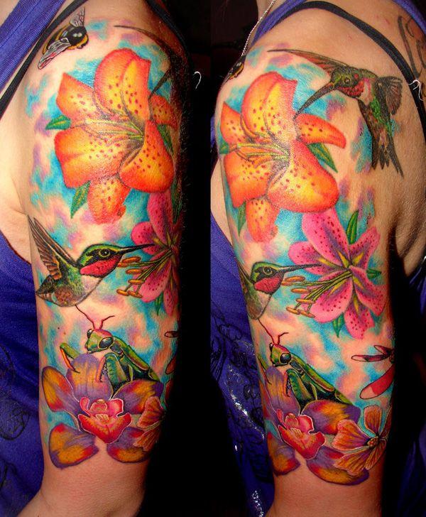 d4340152da98f 55 Amazing Hummingbird Tattoo Designs   Tattoo ideas for women ...