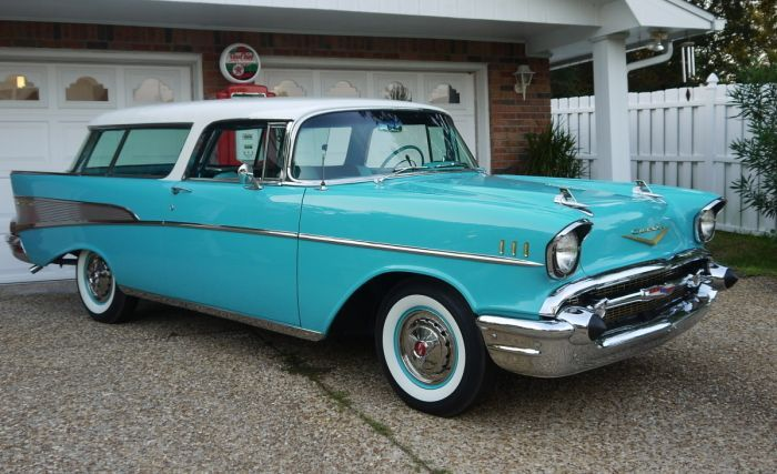 Hemmings Find Of The Day 1957 Chevrolet Nomad Chevy Nomad