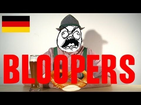 BLOOPERS: How German Sounds Compared To Other Languages