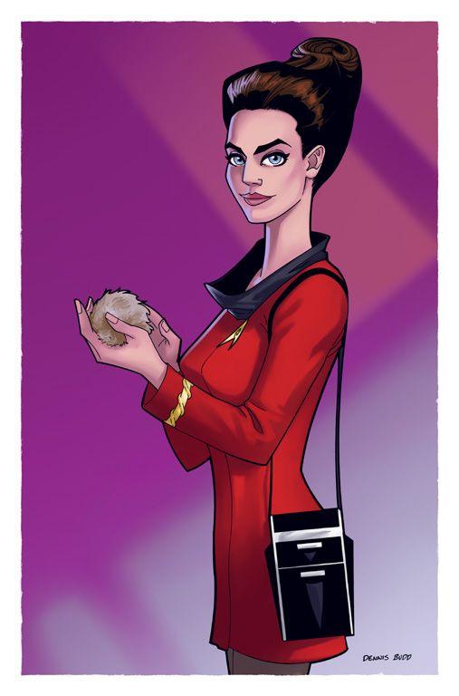 Jadzia Dax (Trials and Tribble-ations) by ~DennisBudd