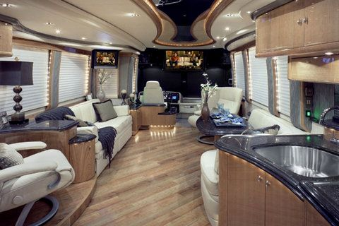 7 Totally Tricked Out Rvs For Road Tripping Like A Boss Luxury