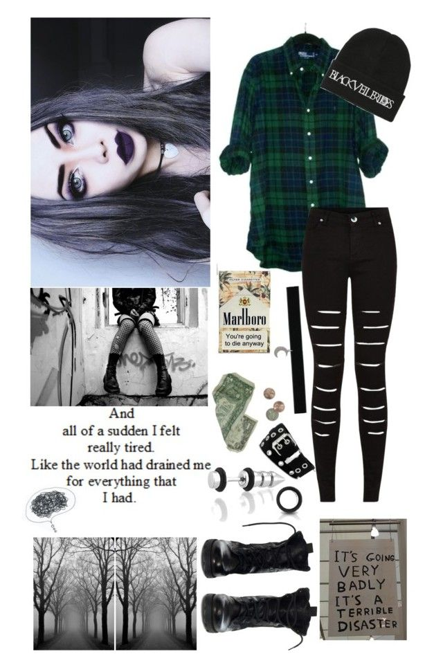 """""""Goodbye. This is killing me I can't take it anymore"""" by nhack ❤ liked on Polyvore"""