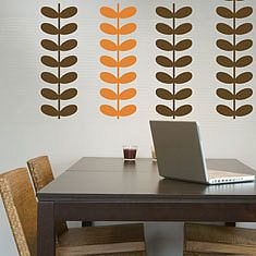 Orla Kiely esque wall decals  once again no longer available & Orla Kiely esque wall decals  once again no longer available ...