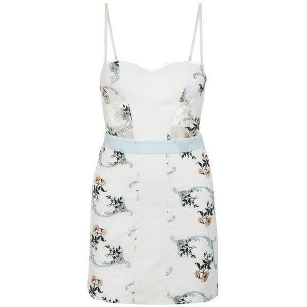 8a2ecd5075b La Perla Hampton Court Corset Dress In Silk Georgette And Embroidered...  ( 2