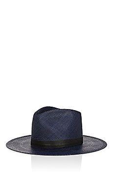 39b96ee6774 Janessa Leone Aster Panama Hat