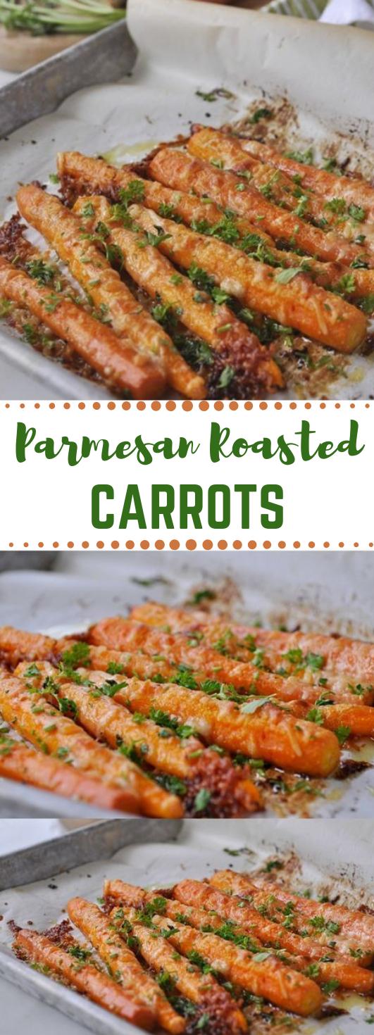 Parmesan Roasted Carrots Parmesan Roasted Carrots