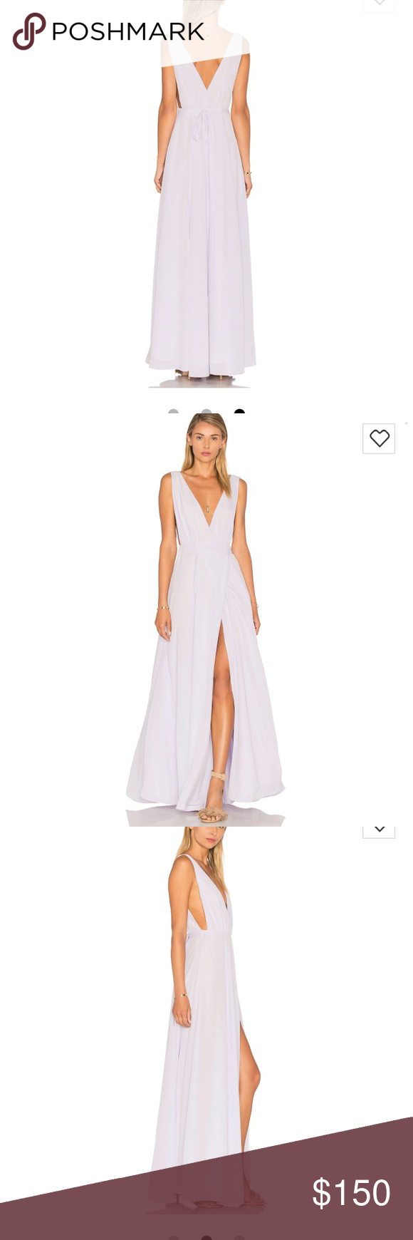 Lovers And Friends Leah Gown In Lavender Nwt My Posh Picks Gowns