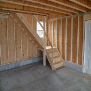 Second Floor Garage And Garden Shed Ideas Attic Stairs