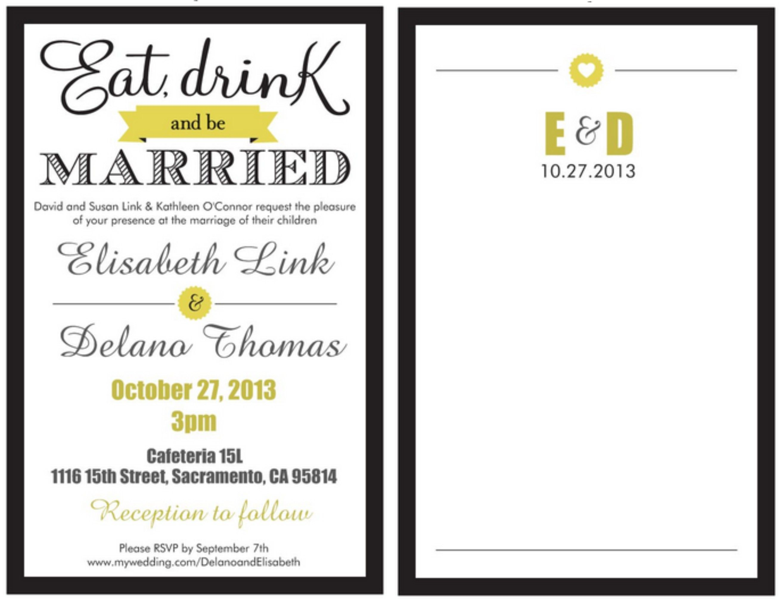 Wedding Invitation From Vistaprint Invitations And