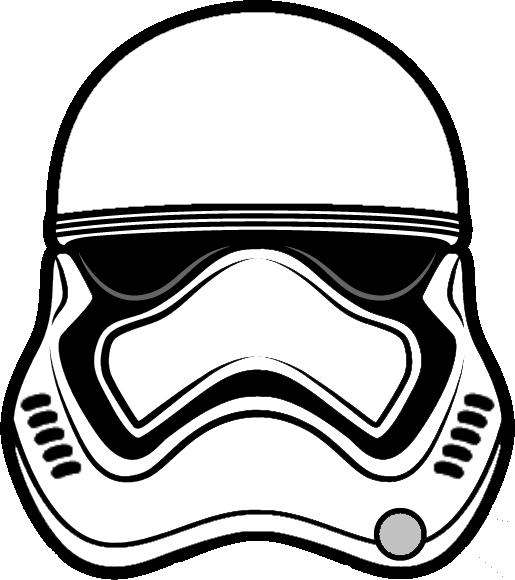 Рисунок звездные войны штурмовик