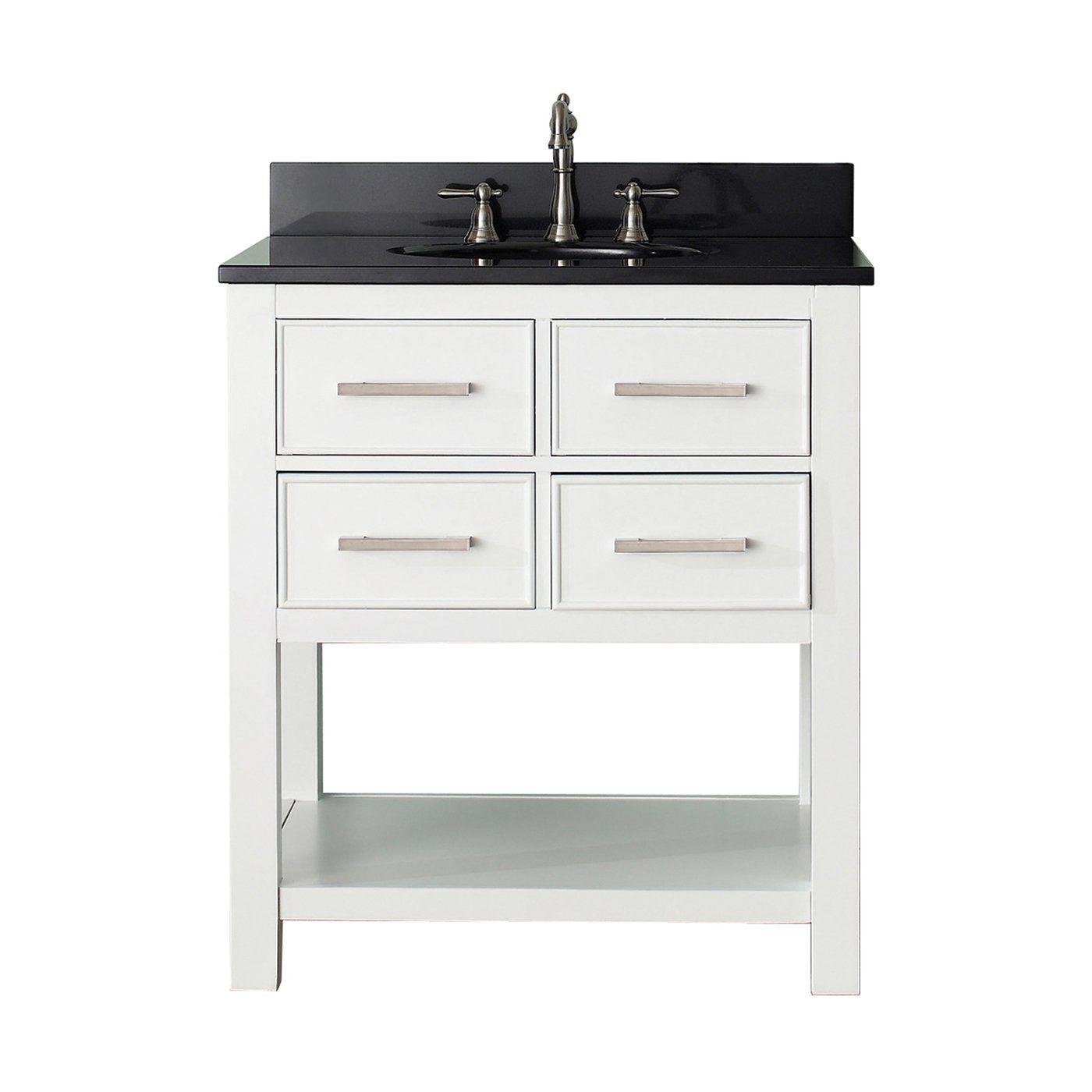 shop avanity brooks vs brooks bathroom vanity combo at on lowes vanity id=91436