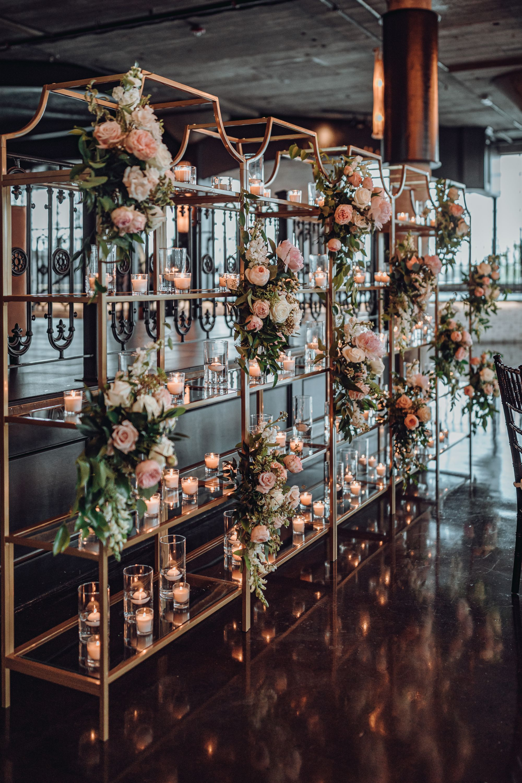 Unique Shelf Wedding Backdrop Romantic And Intimate