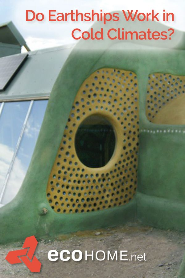 Earthships in Canada