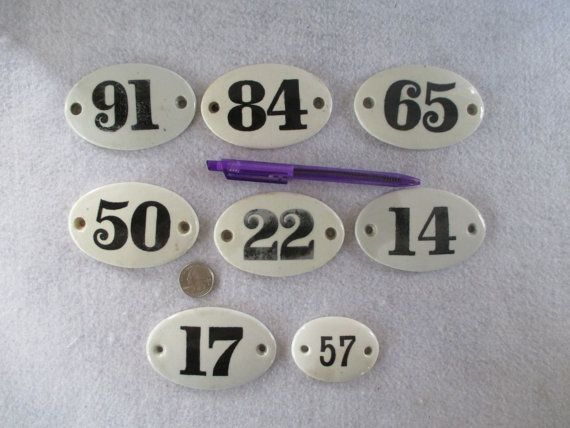 Ceramic Door Number Antique Victorian Vintage Hotel Room Number Oval I D Plaque White China Porcelain Black House N Vintage Hotels Door Numbers Hotel Door