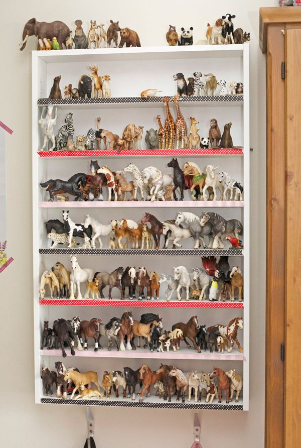 We Love This Storage Solution For Our Schleich And Safari