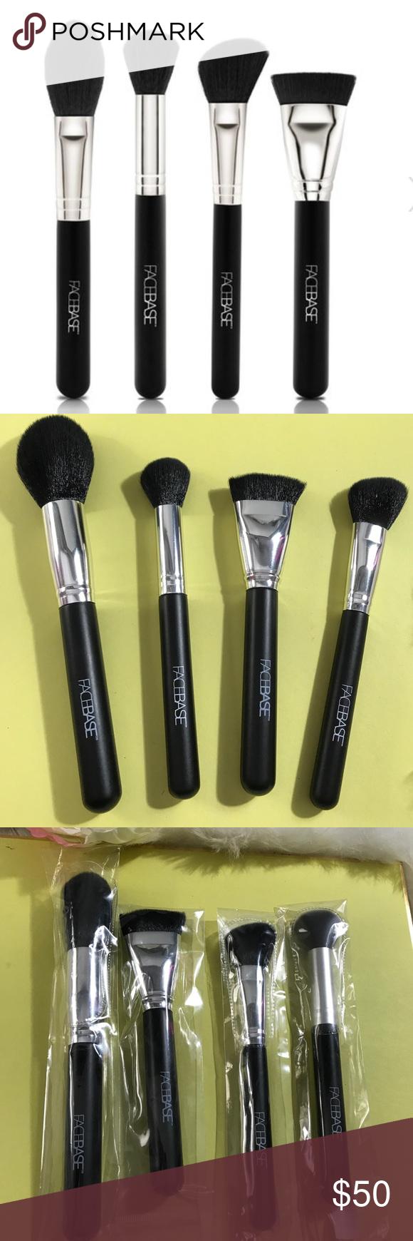 Facebase contour brushes x4 PRO high quality Professional