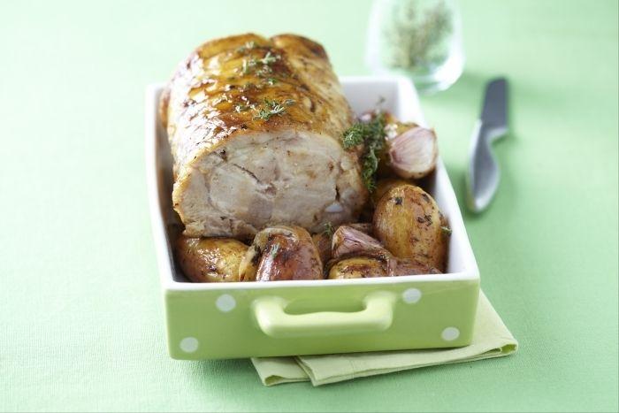 recettes de rôti de porc, les recettes de nos chefs
