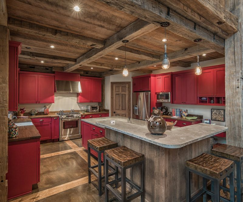 20 Homey Kitchens with Reclaimed Ceiling | Homey kitchen, Ceilings on kitchen white beams, kitchen granite, kitchen natural beams, kitchen tv, kitchen ceiling lights, kitchen ceiling planks, kitchen renovations, kitchen bay windows, kitchen ceiling beams, kitchen stone, kitchen arches, kitchen brick walls,