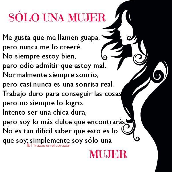 Sólo una mujer...@trazosenelcorazon