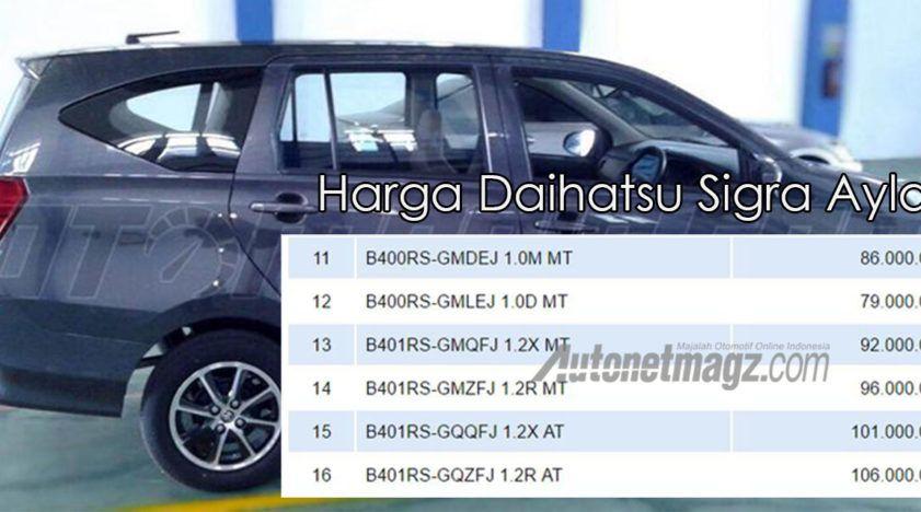 Daihatsu Sigra (Toyota Calya) mini MPV prices leaked