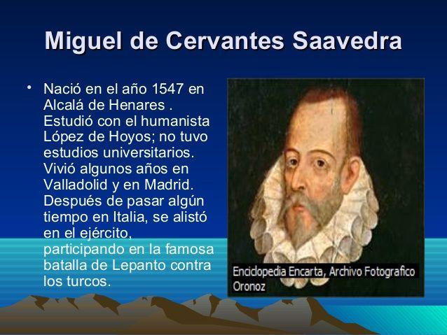Miguel De Cervantes Biografia Buscar Con Google Pandora Screenshot