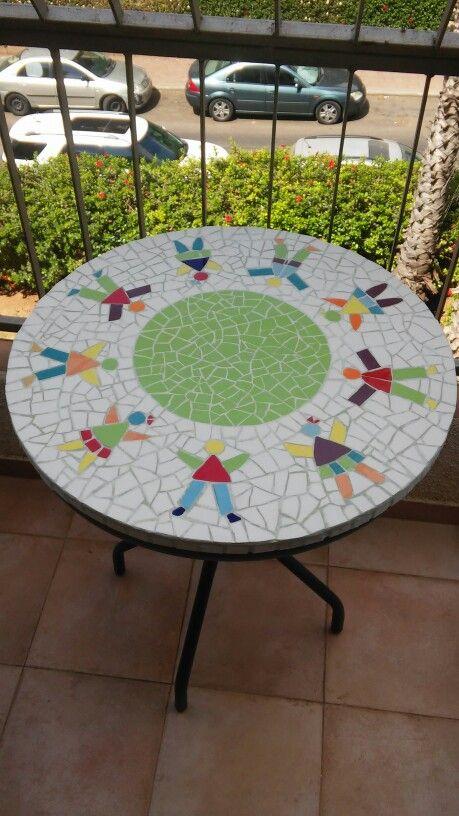 Mosaic Coffee Table Mosaik Pinterest Mosaics Coffee And