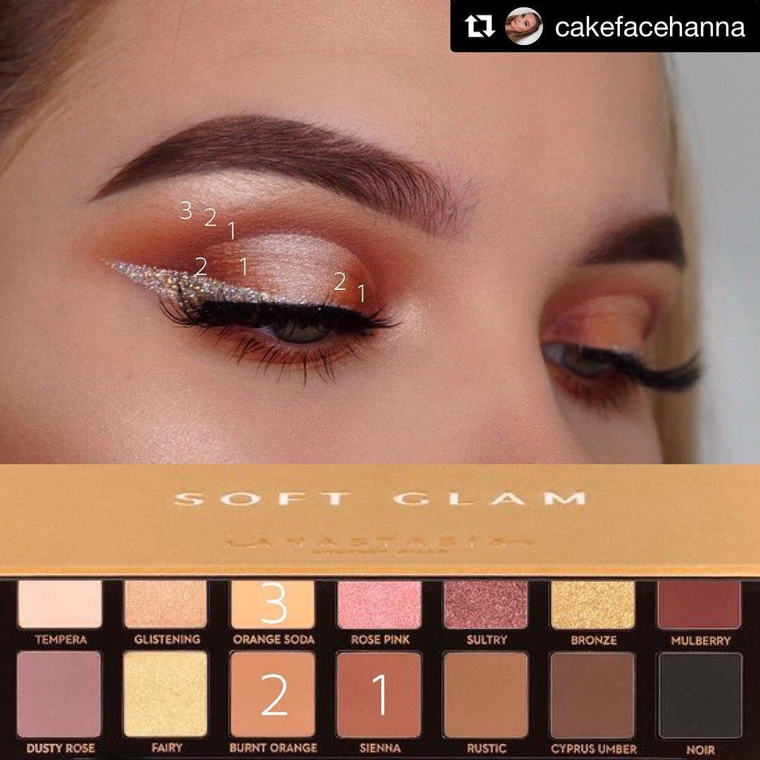 Eyeshadow Tutorials On Instagram Mua Cakefacehanna Palette