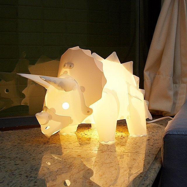 Diy Assemble Dinosaur Lights Set Triceratops Angel