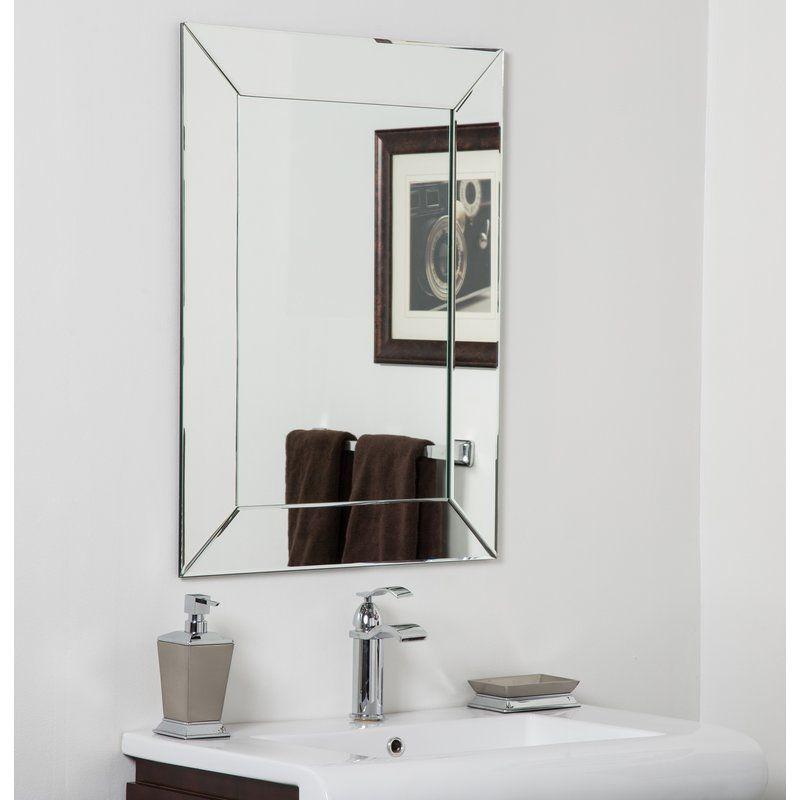 Balani Bathroom Wall Mirror Mirror Wall Bathroom Modern