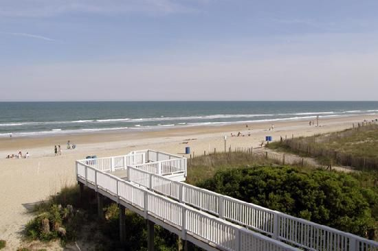View Silver Gull Motel Balcony To The Beach Wrightsville Nc