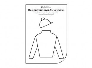 Using This Top And Hat Template Your Child Can Design Decorate Their Own Jockey Silks For Royal Ascot